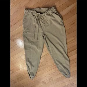 Lululemon Stretch High Rise Jogger Trench Tan 10